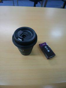 コーヒーとようかん
