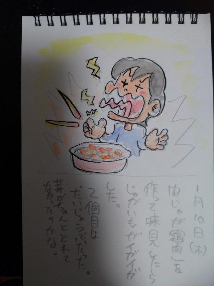 2019年1月10日アシタモ絵日記