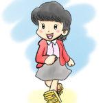 時をかける少女原田知世の似顔絵