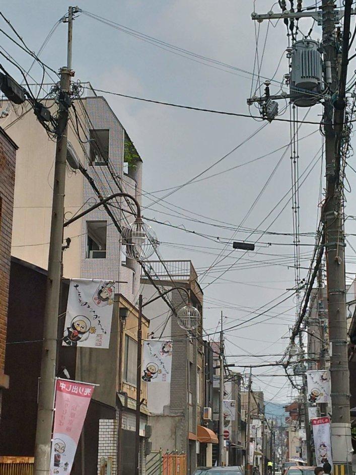 松原京極商店街ペナント様子2