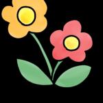 お花のイラスト