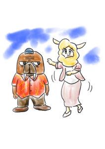 オッドタクシー感想絵日記
